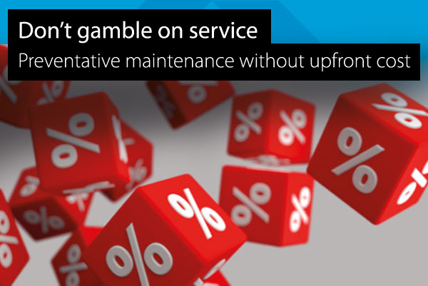 Preventative maintenance without up front cost image