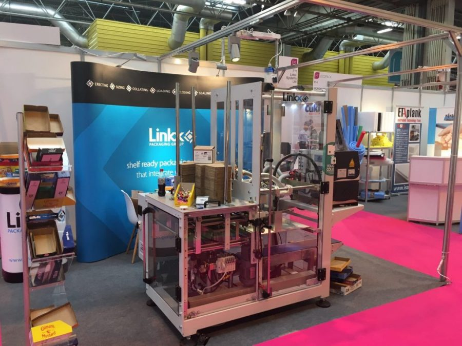 Linkx Systems at Packaging Innovations 2017 Stand F11