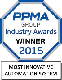 PPMA Award winner - Most Innovative Automation System