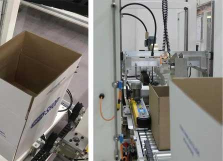 Multi-Case Erectors Automated Multiple size Cases on-demand image
