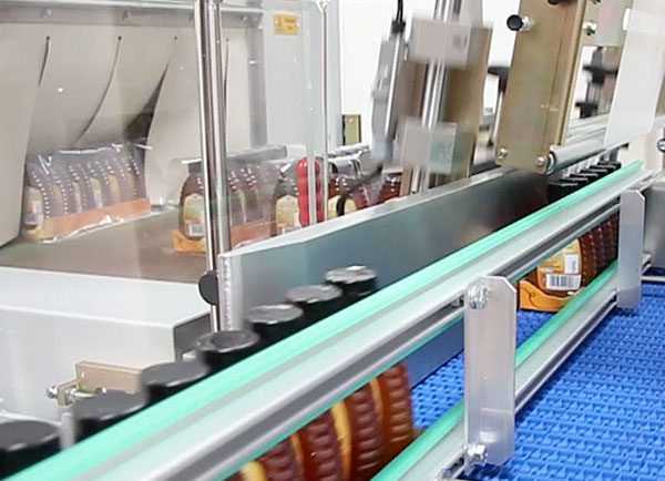 automatic shrink-wrapper collator trays image