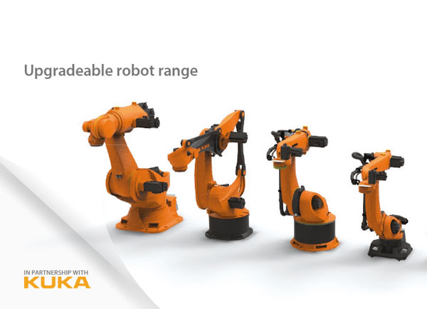 KUKA updatable robot range