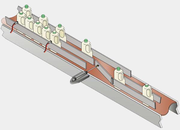 Lane Diverter Packaging Automation image