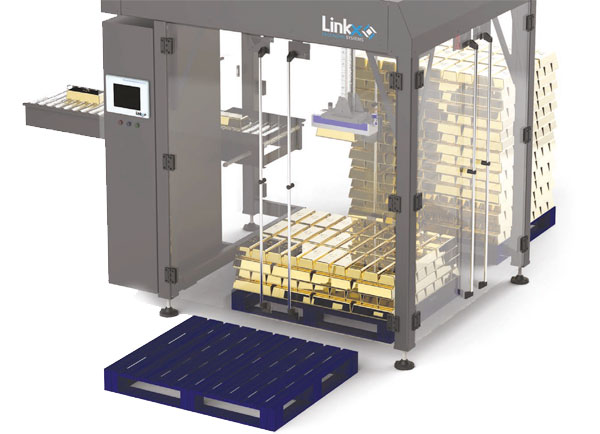 Linkx Compact Gantry Palletiser