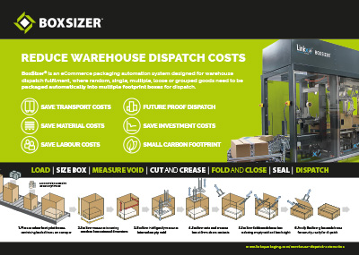 Linkx Systems BoxSizer E-Commerce overview