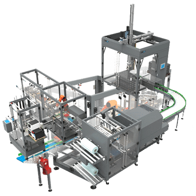 Factory Packaging Automation Packing Line Robot Load image