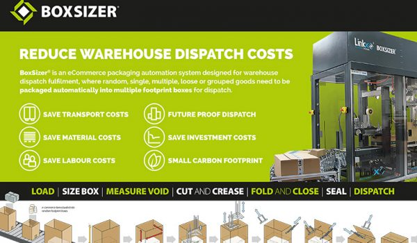 BoxSizer® reduces dispatch costs