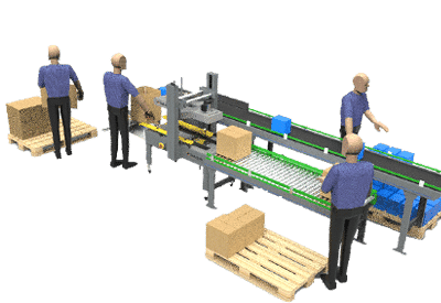 Repack Packing Automation Line image