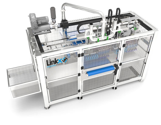Robot pick and place unloading for Unilever | Linkx