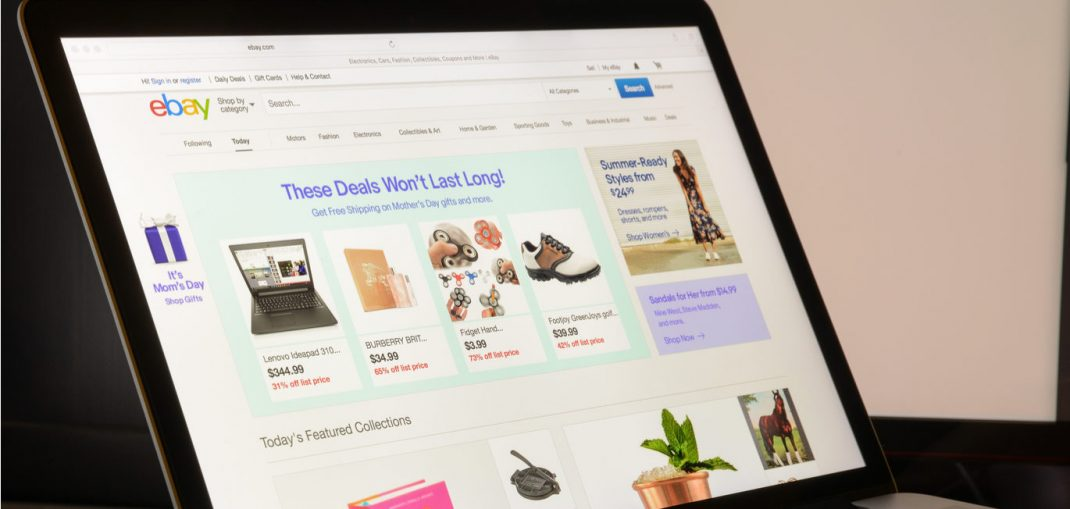 EBay grows its customer accounts but struggles to compete with Amazon