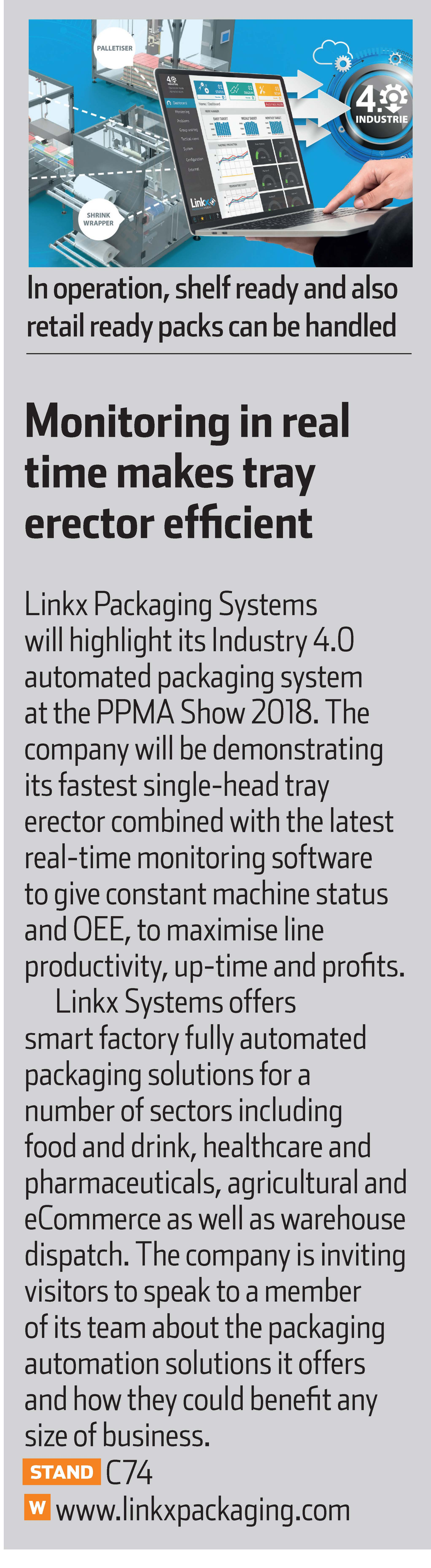 PPMA Machinery Update September 2018 Press Clipping
