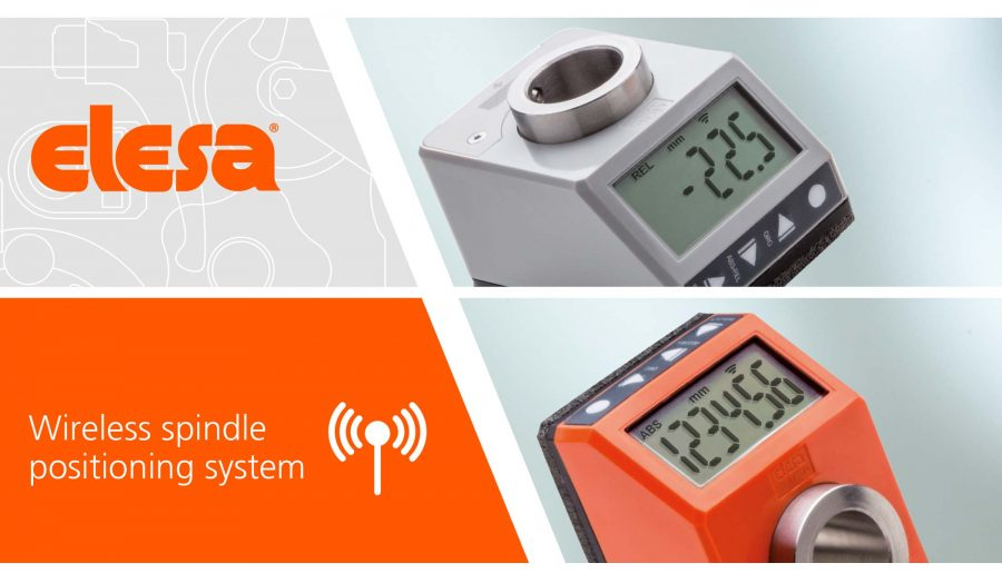 Elesa wireless spindle positioning system banner