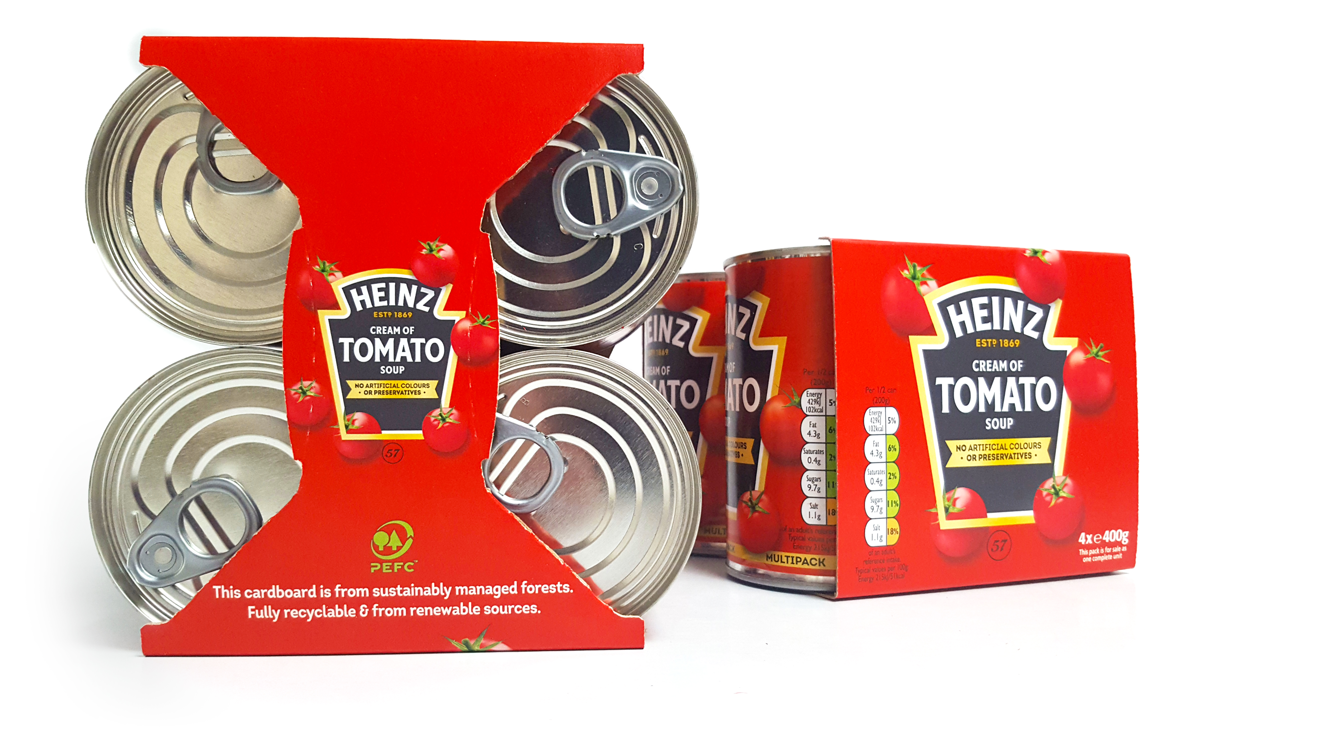 Heinz Recyclable Paperboard